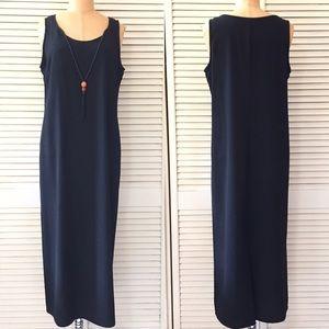 Studio I Black Dress size 10P Sleeveless